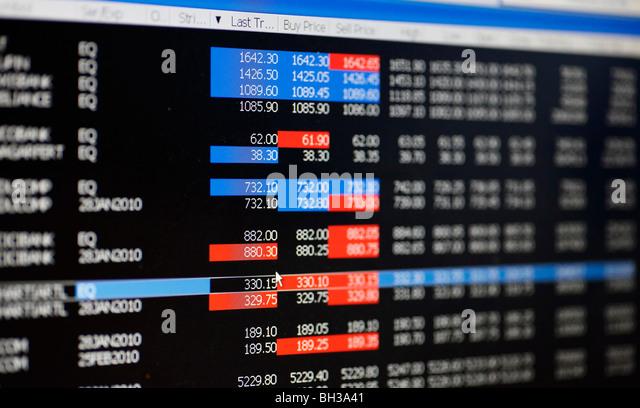 Online trading market