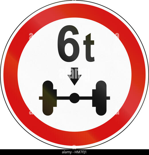 Axle Load Limits : Axle load limit stock photos
