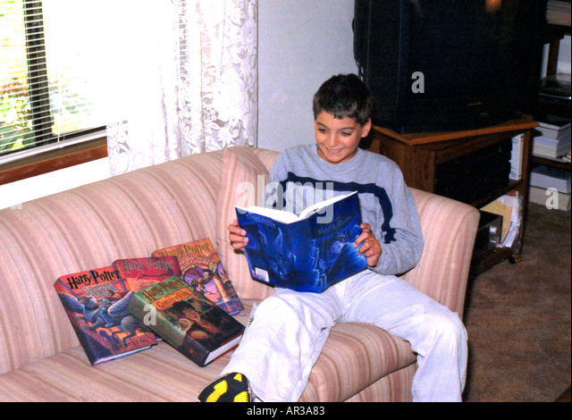 Harry Potter Books Young Readers : Harry potter stock photos images alamy