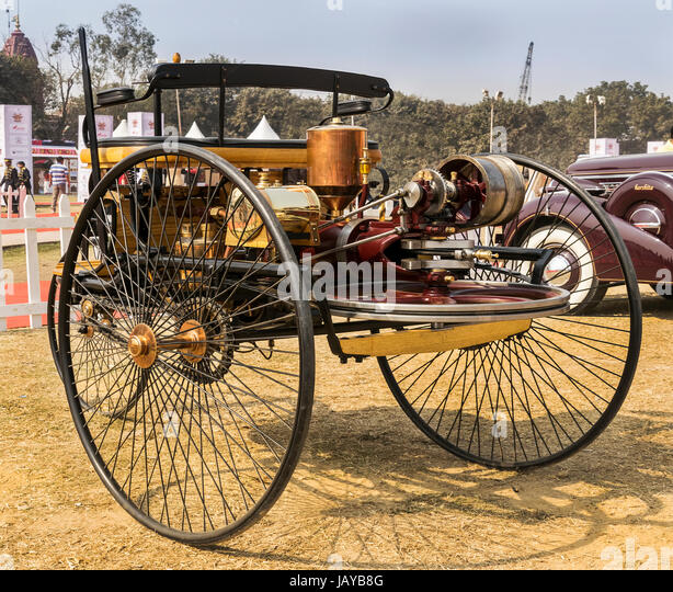 The World S First Automobile The Benz Patent Motorwagen: Carl Benz Stock Photos & Carl Benz Stock Images