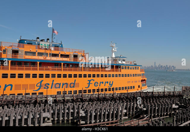 How Many Miles Is The Staten Island Ferry