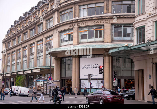 le bon marche paris stock photos le bon marche paris stock images alamy. Black Bedroom Furniture Sets. Home Design Ideas