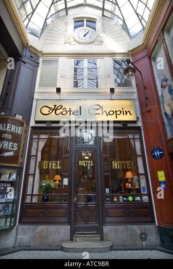 Hotel Chopin Paris Stock Photos Hotel Chopin Paris Stock