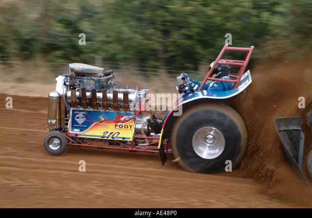 Tractor Pull Sled Flag : Dragster race stock photos images