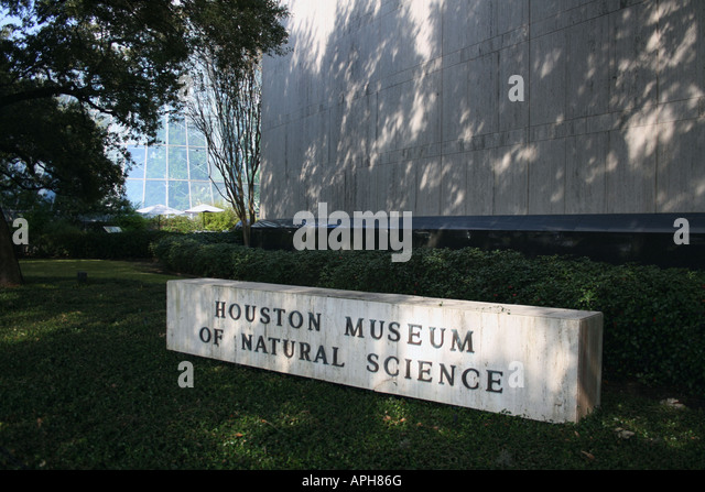Houston Museum Of Natural Science Houston Tx Usa