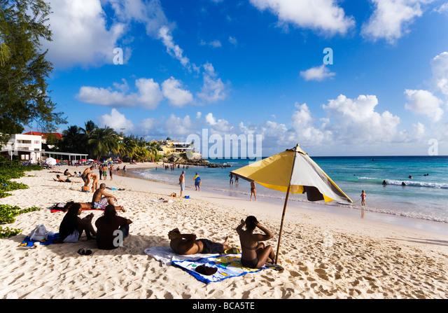 Barbados Beach People Stock Photos & Barbados Beach People ...