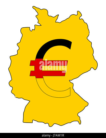 German Currency Cut Out Stock Images Pictures Alamy