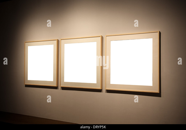 empty frames stock image - Empty Frames