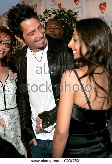 Chris Cornell Wife Vicky Karayiannis Stock Photos & Chris Cornell Wife ...
