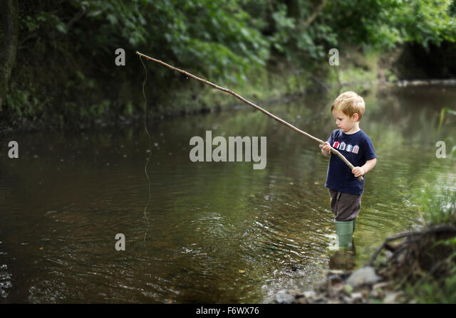 Portrait blonde little boy 2 3 stock photos portrait for Little boy fishing