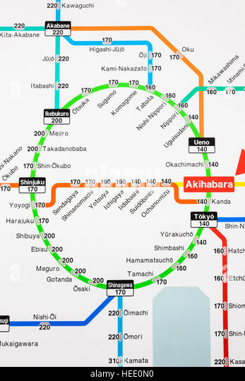 tokyo japan train map - Ecosia