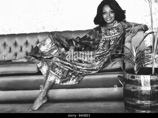 Diana Ross May 1973 The Singer Former Member Of Supremes Has Just Played Role