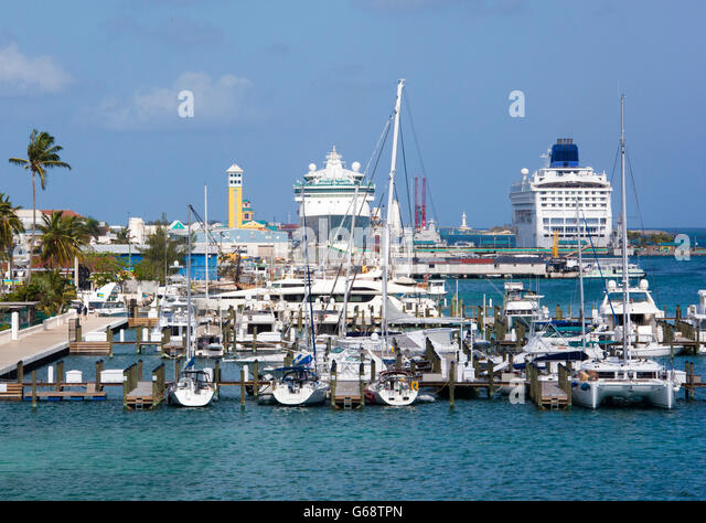 Port nassau bahamas stock photos port nassau bahamas stock images alamy - Cruise port nassau bahamas ...