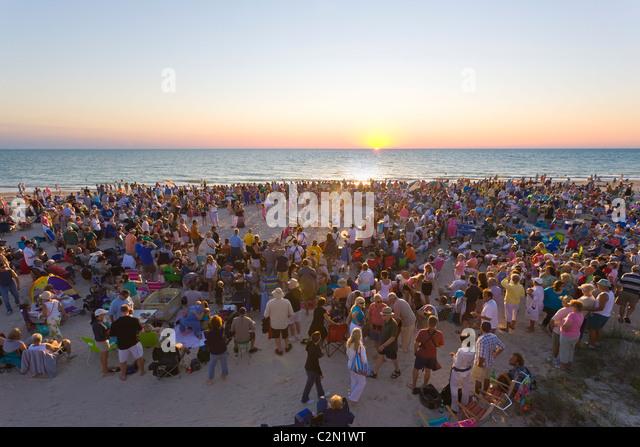 Drumming In Nokomis And Venice Florida At The Beach