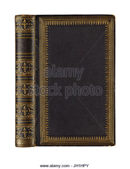 Old Law Book Cover ~ Old law books stock photos images