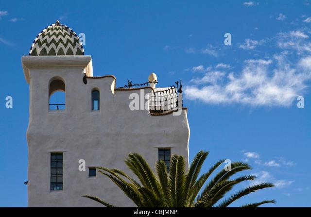 Spanish Style Home California Stock Photos Spanish Style