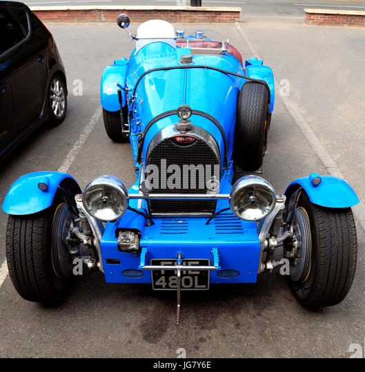 Bugatti Racing Cars Stock Photos & Bugatti Racing Cars