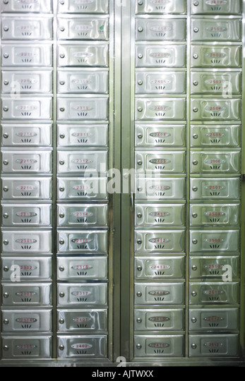 Apartment Building Mailboxes postal apartment stock photos & postal apartment stock images - alamy