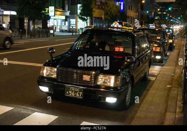 how to catch cab in osaka