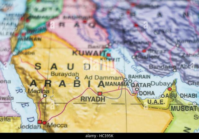 Riyadh Map Stock Photos Riyadh Map Stock Images Alamy
