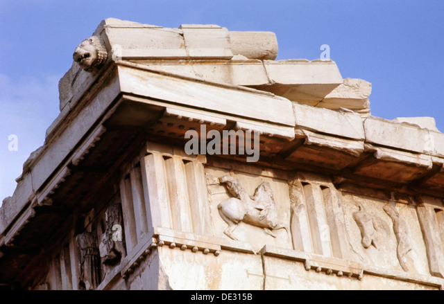 Detail Of The Parthenon Metope