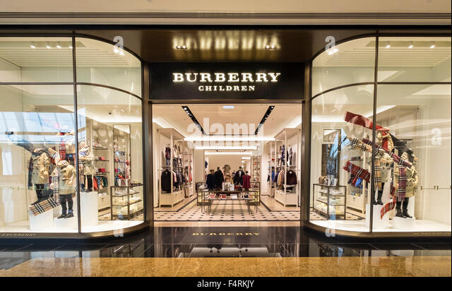 burberry store outlet wrzf  View of Burberry Children store in Mall of the Emirates in Dubai United  Arab Emirates