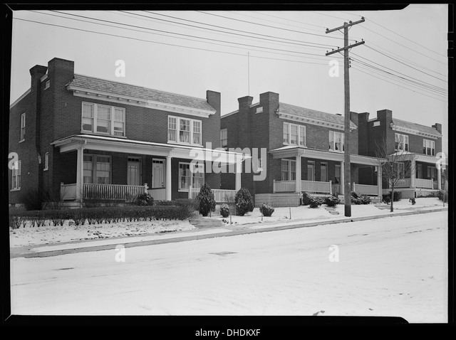 Houses Development Black And White Stock Photos Images Alamy