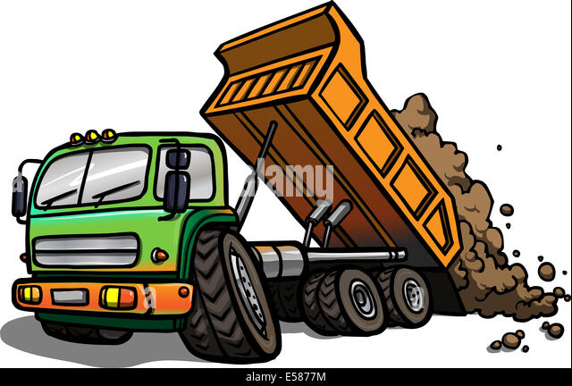 http://l7.alamy.com/zooms/d6a0f3ef30ce40e4af6a4fd893c0e0ff/illustration-of-a-cartoon-tipper-truck-at-work-isolated-e5877m.jpg