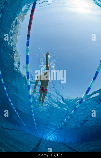 Olympic Swimming Pool Underwater olympic swimming pool stock photos & olympic swimming pool stock