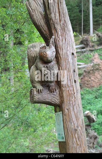 Wood carving uk stock photos