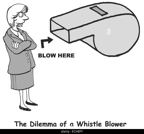 Hero or pariah? A whistleblower's dilemma