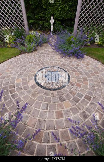 Cobble Stone Mosaics : Pebble stone mosaic stock photos