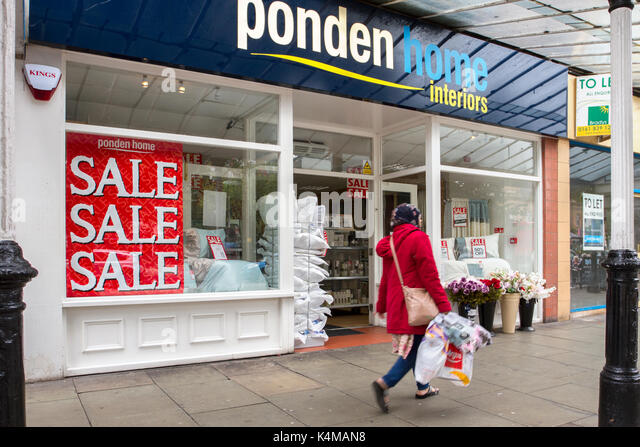 Ponden Home Interiors Summer Sales In Lord Street, Southport, Merseyside,  UK   Stock Part 34