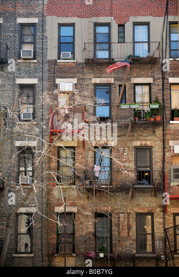 Apartment Brick City Stock Photos Apartment Brick City Stock Images A