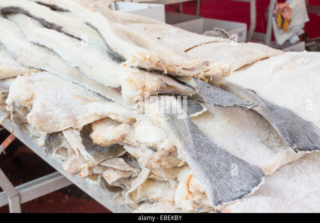 Dried cod stock photos dried cod stock images alamy for Salted cod fish near me