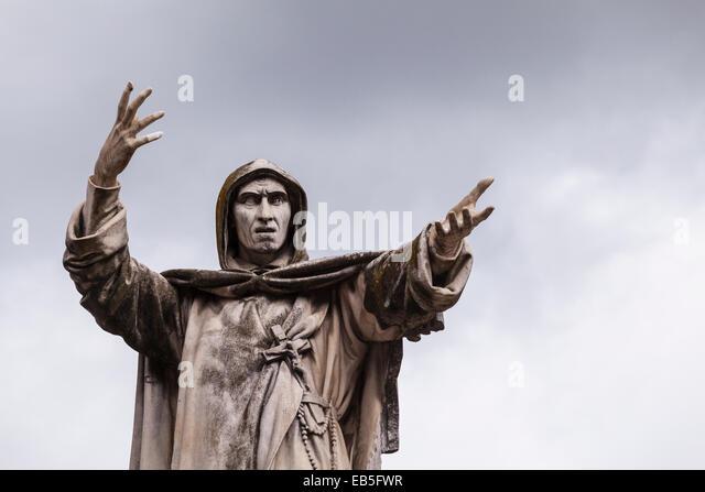 Znalezione obrazy dla zapytania Girolamo Savonarola