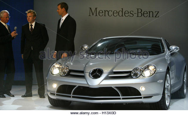 mercedes mclaren slr 2003 stock photos mercedes mclaren slr 2003 stock images alamy. Black Bedroom Furniture Sets. Home Design Ideas