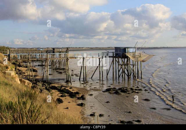 Shrimps fishing stock photos shrimps fishing stock for Fishing piers near me
