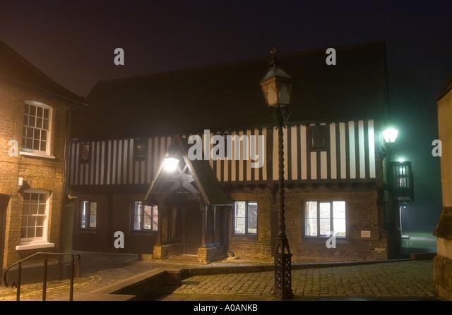 The court house berkhamsted hertfordshire stock image
