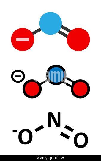 Nitrite Molecular Stock Photos Nitrite Molecular Stock Images Alamy