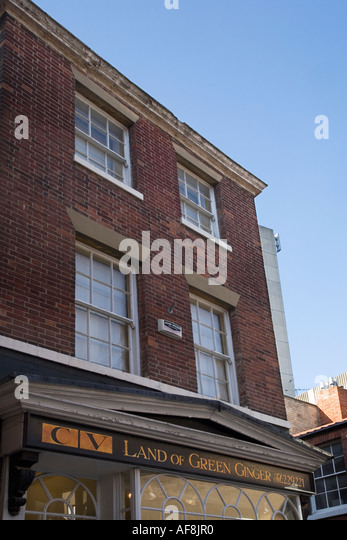 Title name uk gb stock photos title name uk gb stock images alamy land of green ginger one of the oldest street names in the country hull yorkshire england sciox Gallery