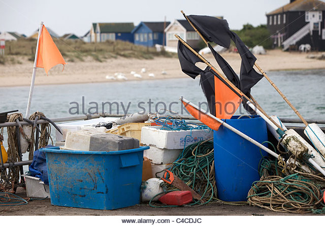Mudeford quay stock photos mudeford quay stock images for Commercial fishing gear