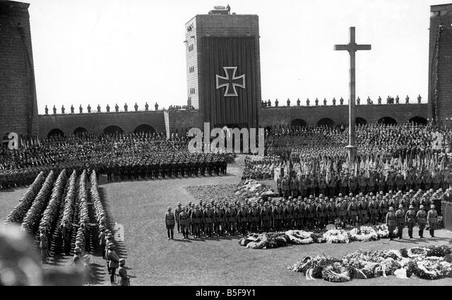 Resultado de imagen de funerales de hindenburg