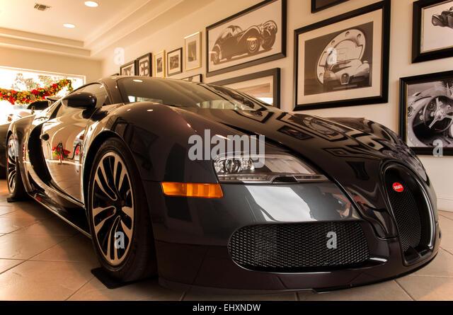 Bugatti Veyron Super Sport On Display.   Stock Image