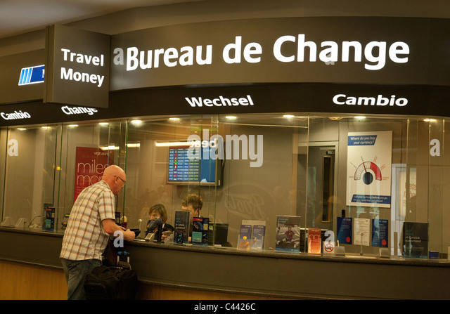 Bureau de change stock photos bureau de change stock for Bureau change