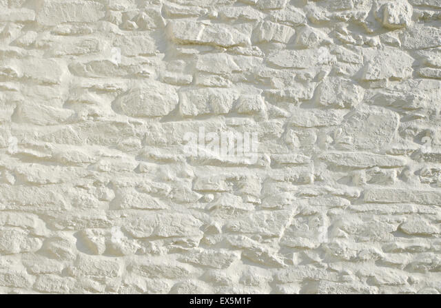 painted stone wallWhite Painted Stone Wall Stock Photos  White Painted Stone Wall