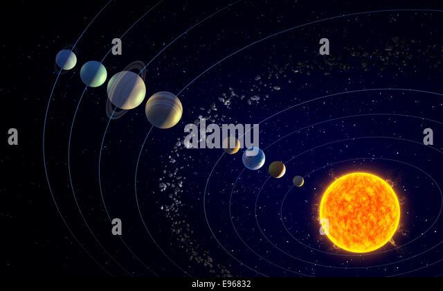 solar system belts - photo #16