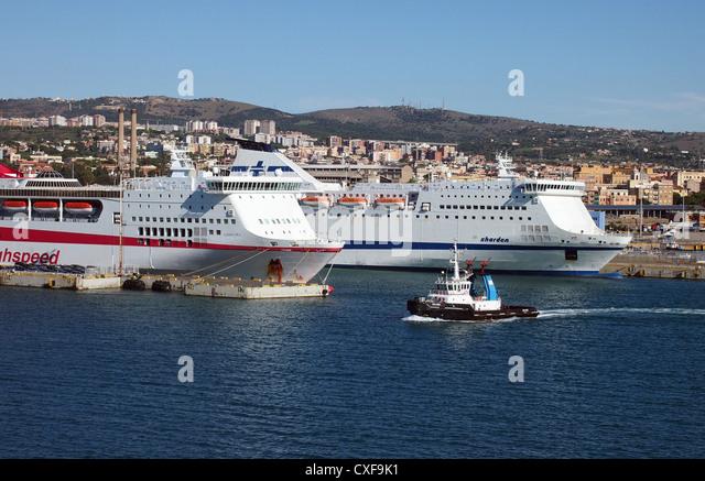 Civitavecchia stock photos civitavecchia stock images - Port of civitavecchia cruise terminal ...