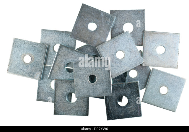 Pile of square M10 and M12 50mm by 50mm zinc plated plate washers - Stock Image  sc 1 st  Alamy & White Square Plates Stock Photos \u0026 White Square Plates Stock Images ...