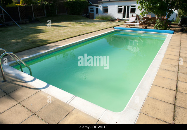 Algae water stock photos algae water stock images alamy for Swimming pool water is green and cloudy